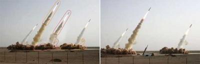 ¿Utiliza el Gobierno de Irán el Photoshop para multiplicar sus misiles?