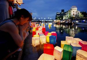 Recuerdan ataque en Hiroshima hace 64 años