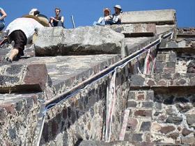 Piden deslindar responsables por Resplandor Teotihuacán